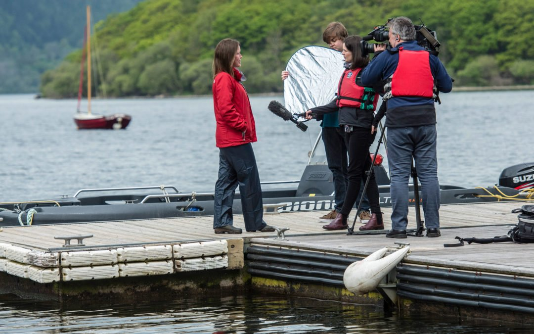 Filming with BBC Look North at Lake District Calvert Trust