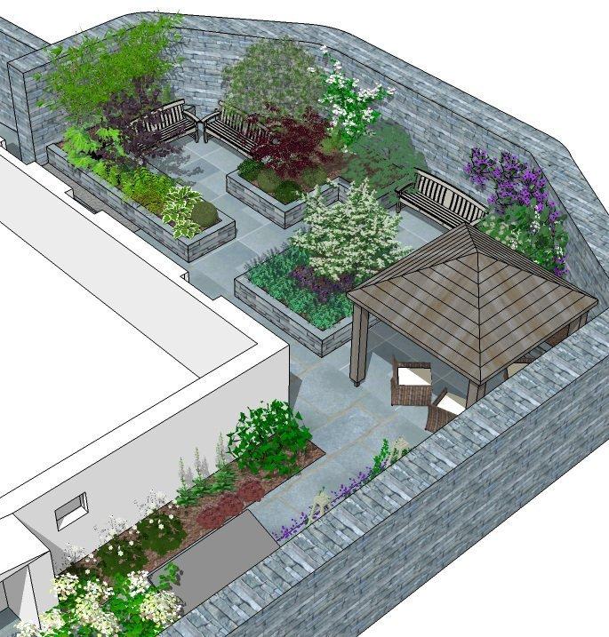 ABI Courtyard design