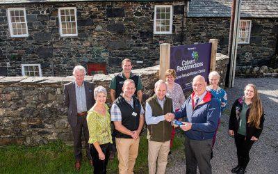 Lake District Neuro-Rehabilitation Centre reaches key milestone – the keys to the 'castle'!